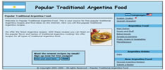 Popular Traditional Argentina Food