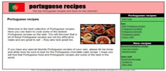 Portuguese Recipes